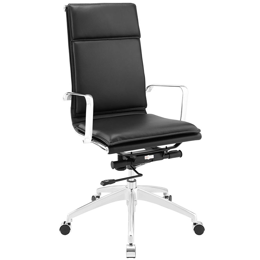 Sydney Black Modern High Back Office Chair