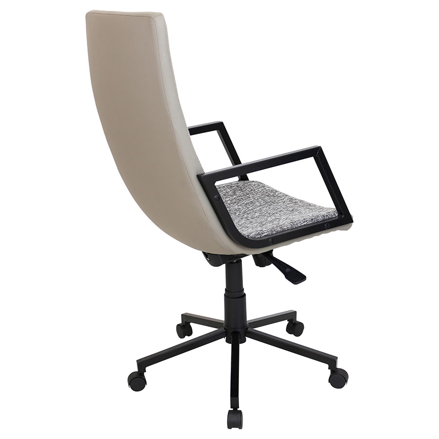 Synergy Black Executive Contemporary Office Chair