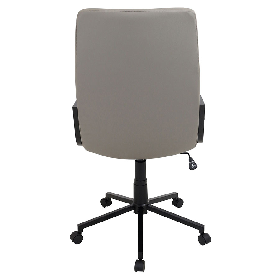 Synergy Tan Modern Office Chair - Back View