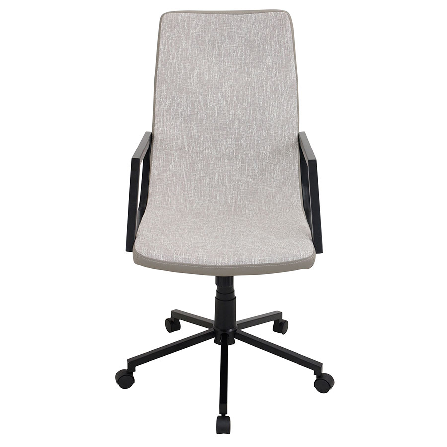 Synergy Tan Modern Office Chair - Front View