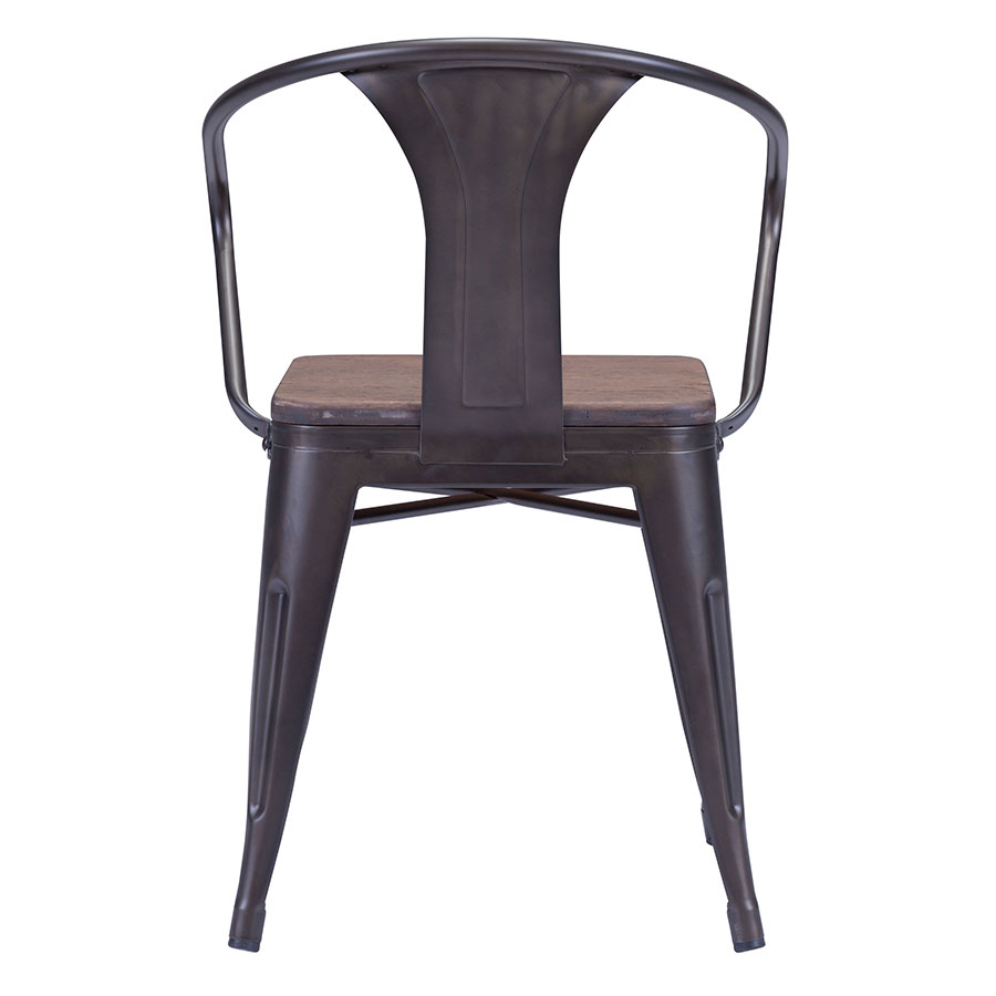 Tamir Contemporary Dining Chair Back