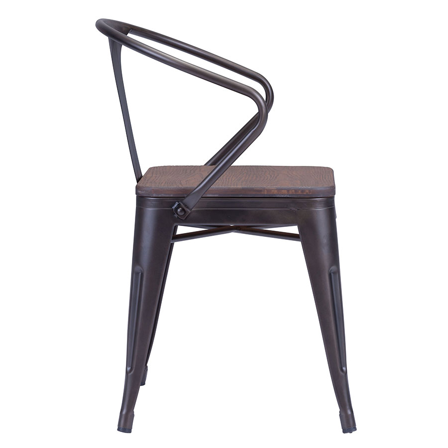 Tamir Industrial Dining Chair