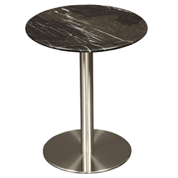 Tammy Black Marble Modern Side Table