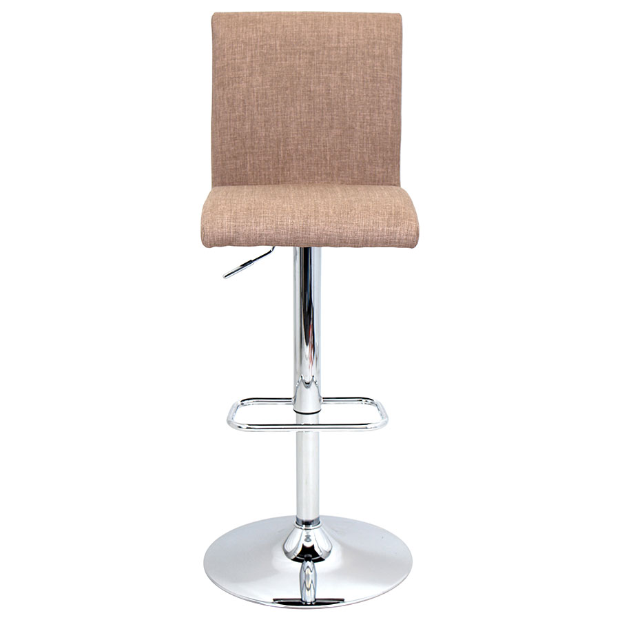 Tarik Brown Contemporary Adjustable Stool
