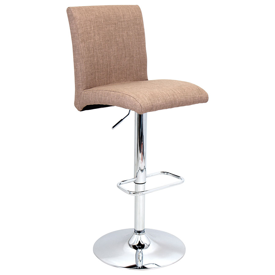 Tarik Brown Modern Adjustable Stool