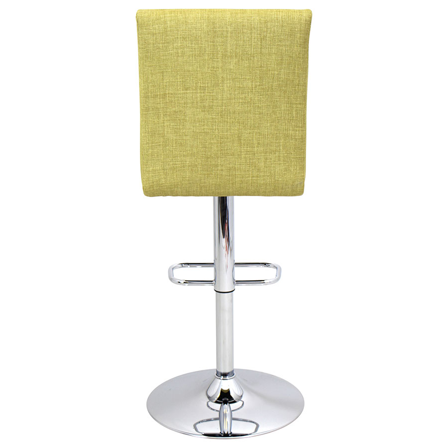 Tarik Green Fabric Modern Adjustable Stool