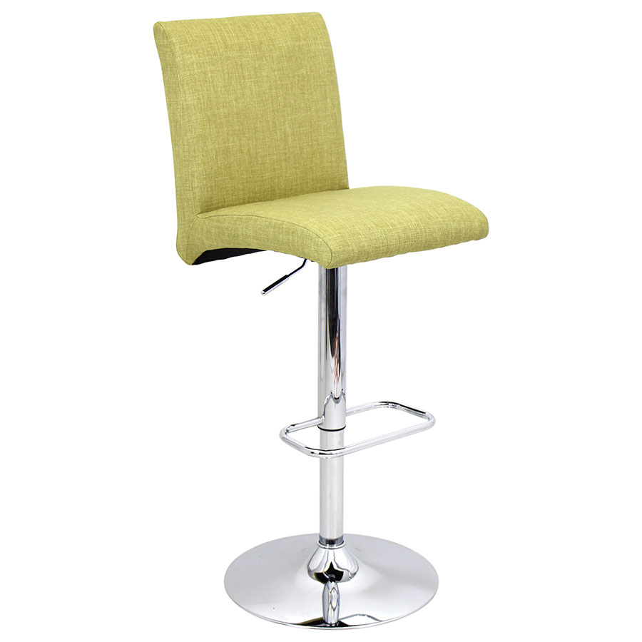 Tarik Green Modern Adjustable Stool