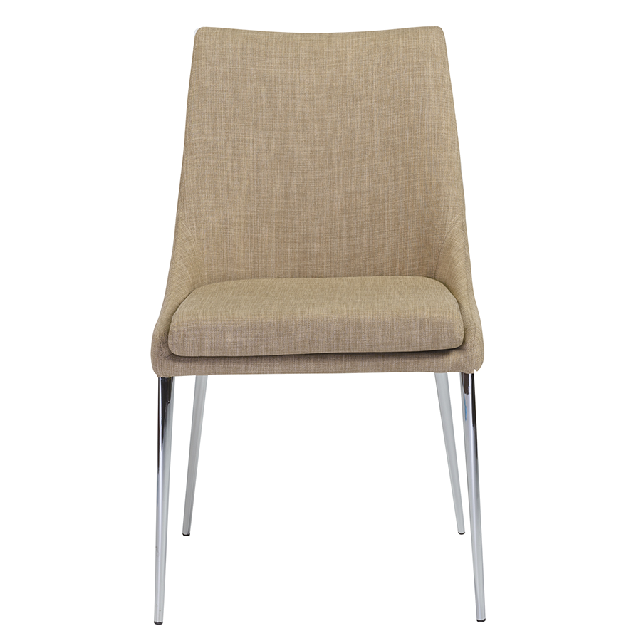 Tarnana Tan Contemporary Dining Chair