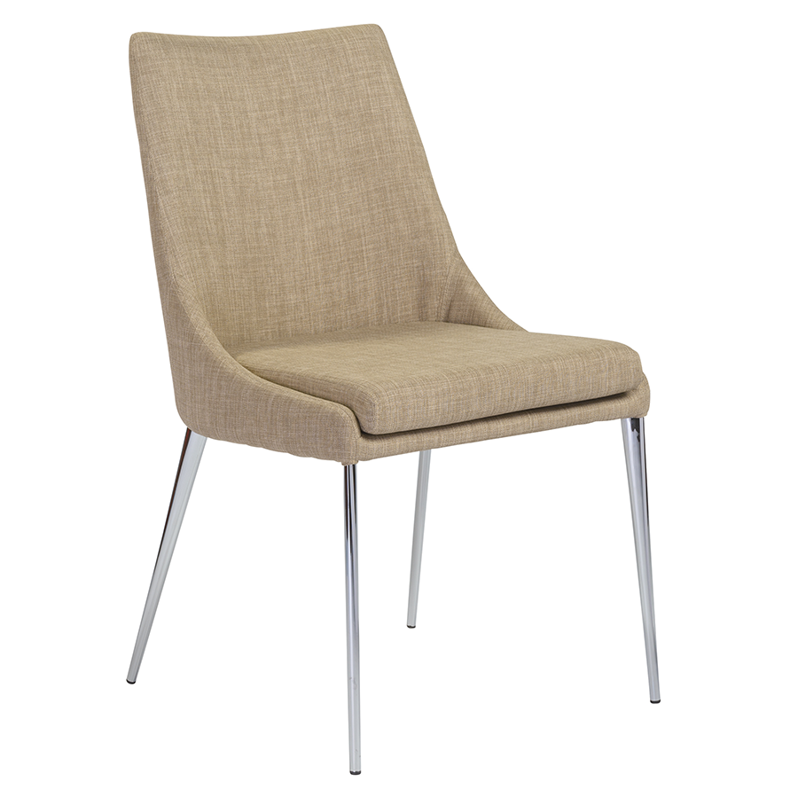 Tarnana Tan Modern Dining Chair