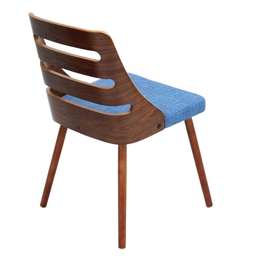 Titus Blue Contemporary Side Chair