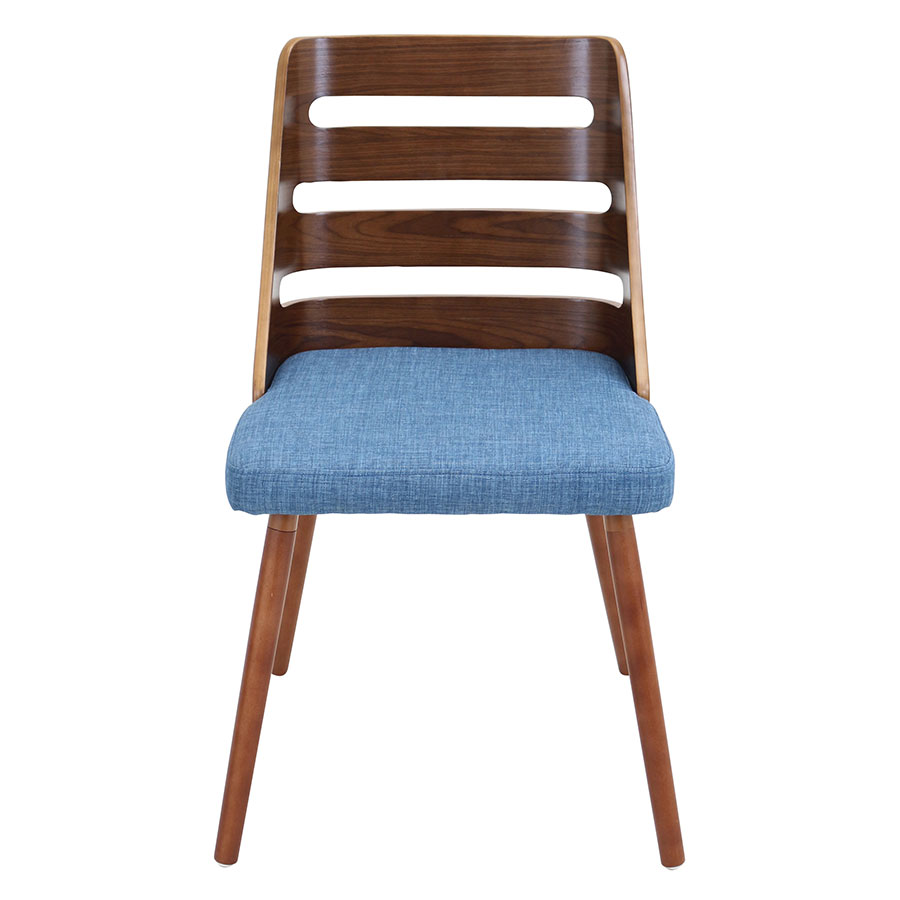 Titus Blue Modern Side Chair