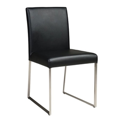 Tobias Modern Black Dining Chair