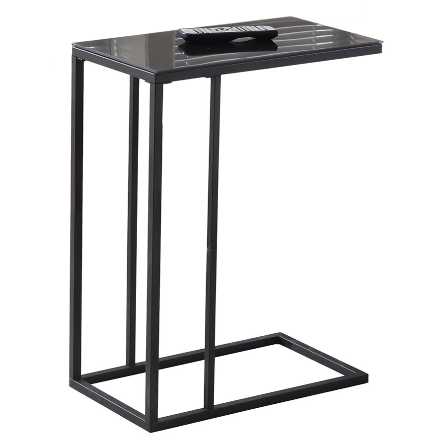 Tony Modern Black Accent Table