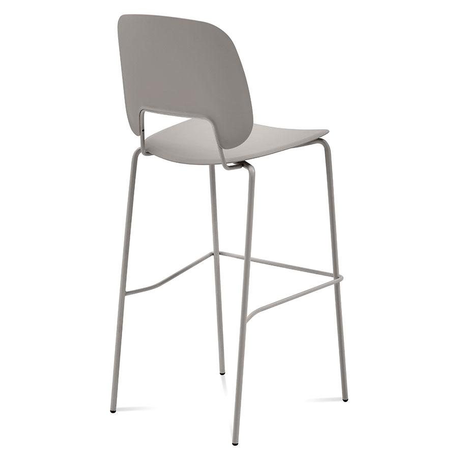 Trajan Tan Modern Bar Stool