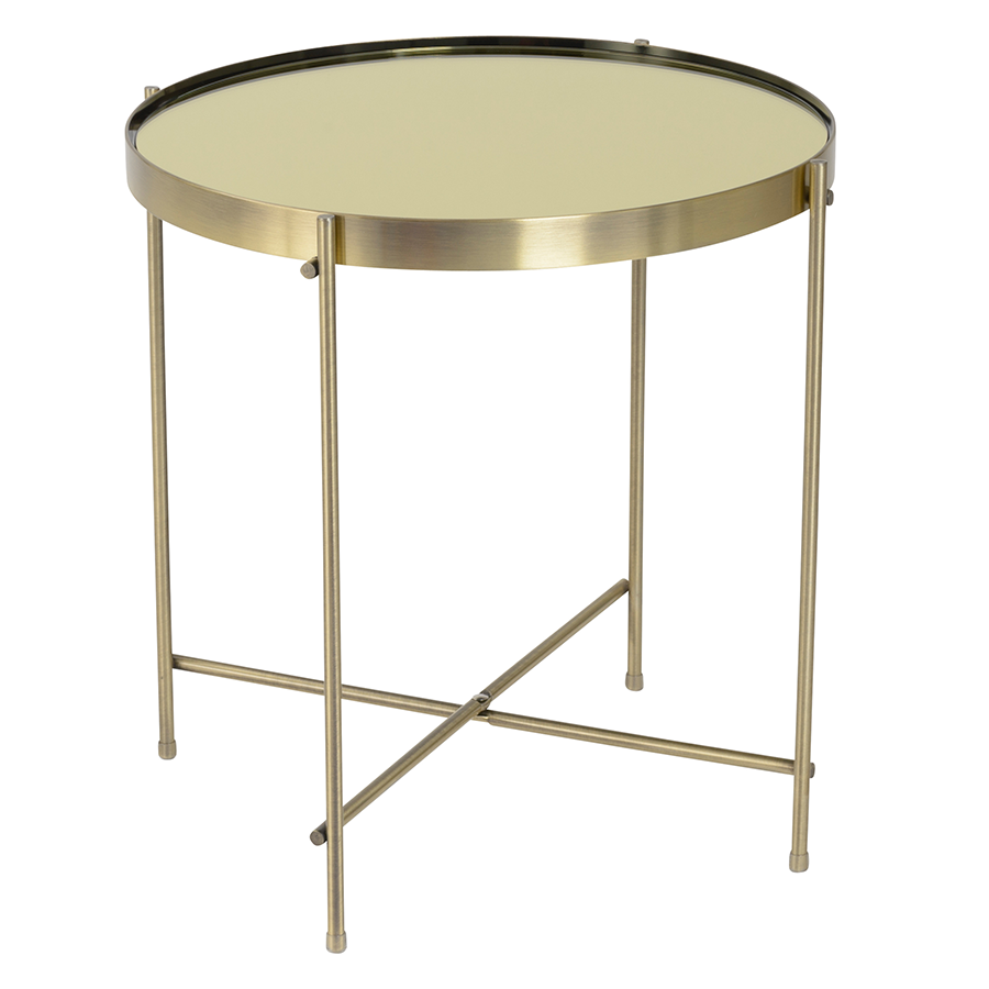 modern end tables  trinity brass side table  eurway - trinity brass modern side table