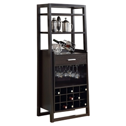 Trish Modern Wine Rack + Bar