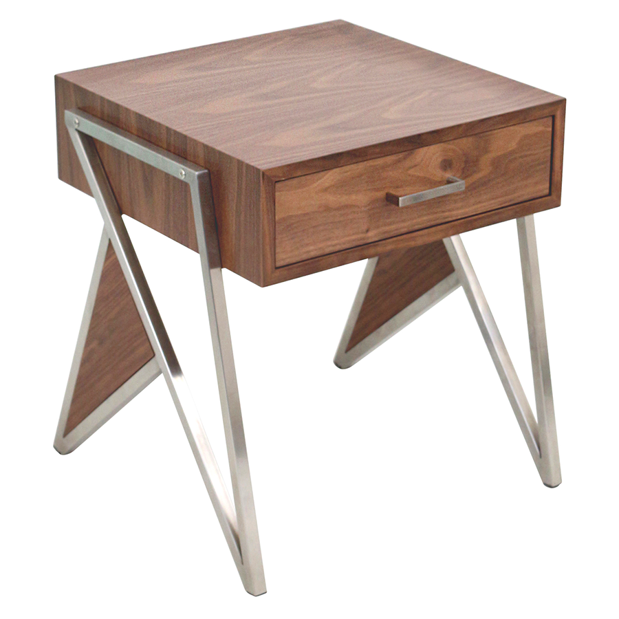 trudy modern end table  nightstand  eurway furniture - trudy modern end table  nightstand