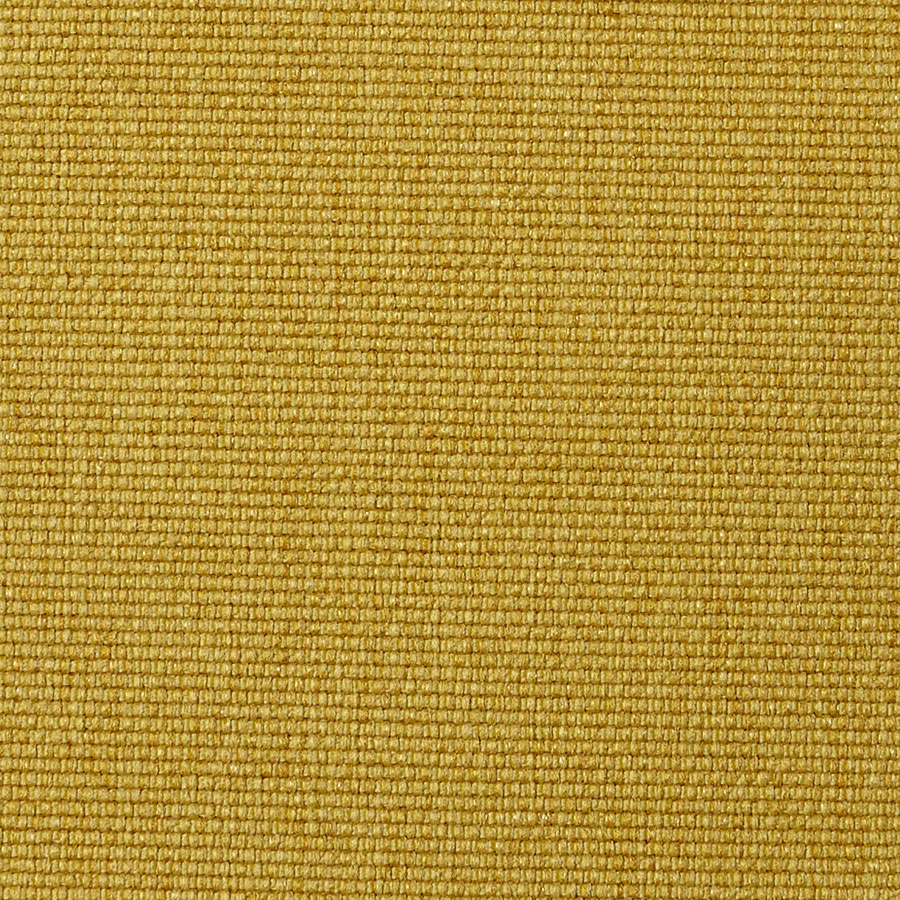 Soft Mustard Flower Polyester Fabric