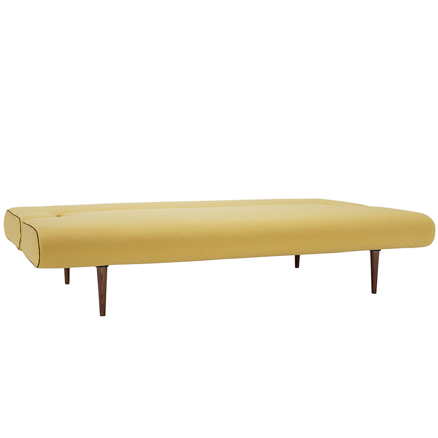Unfurl Sleeper Sofa in Mustard Flower by Innovation