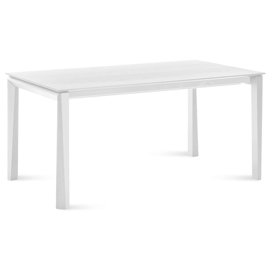 Unice White Contemporary Extension Table