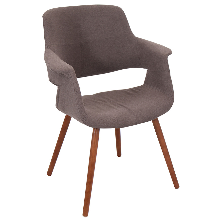 Valera Modern Brown Lounge Chair