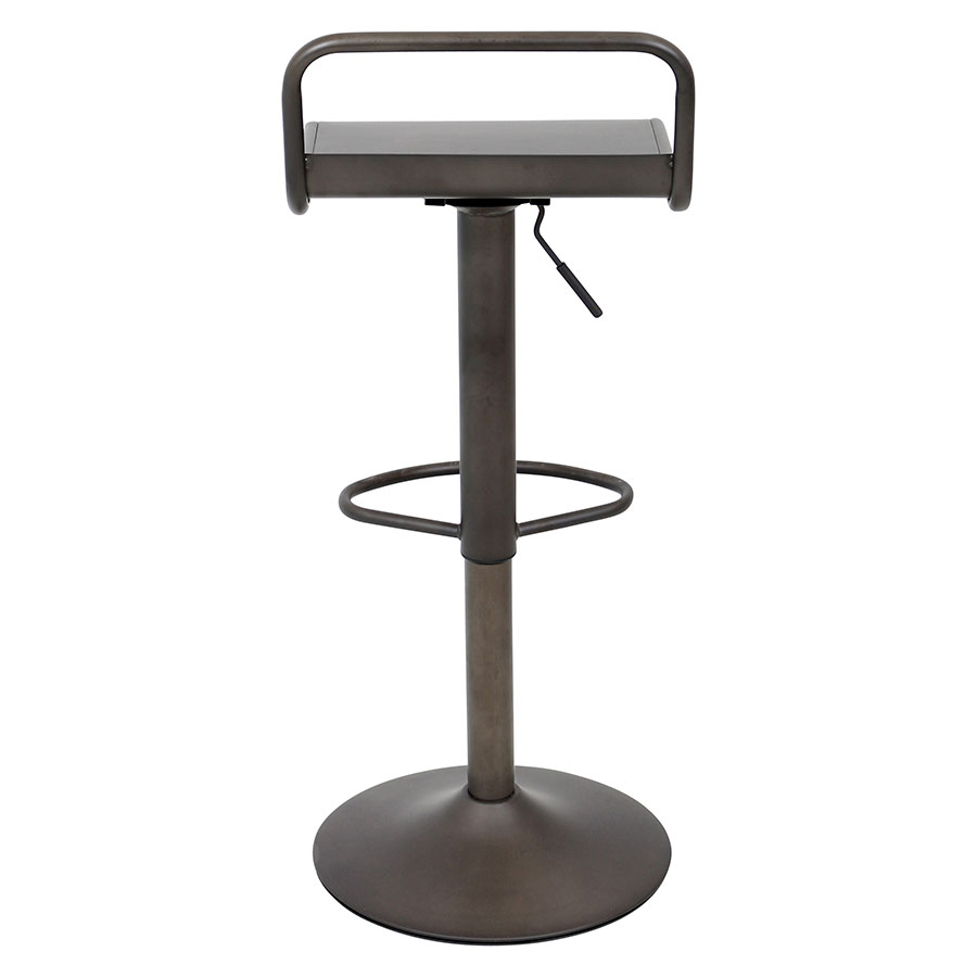 Vallejo Antique Modern Industrial Adjustable Stool
