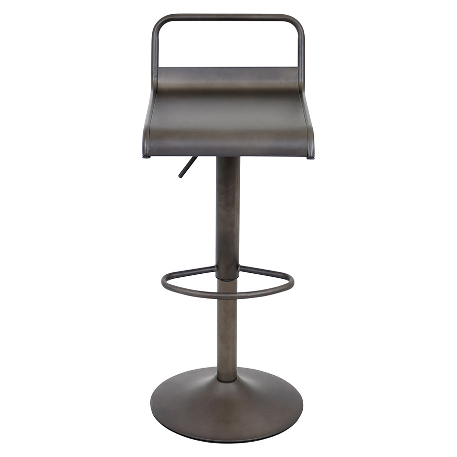 Vallejo Antique Contemporary Adjustable Stool