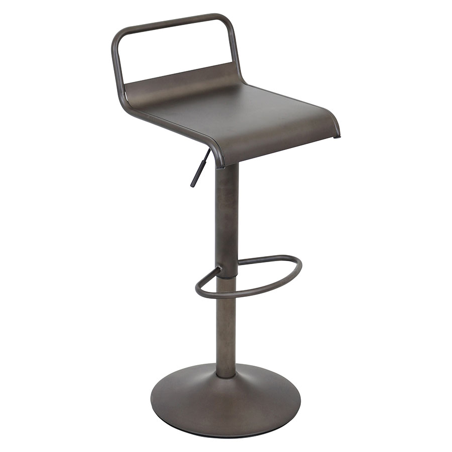 Vallejo Antique Modern Adjustable Stool