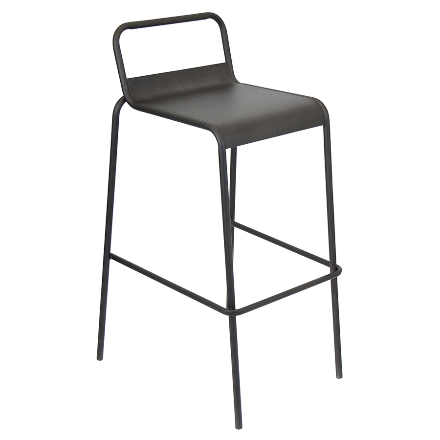 Vellejo Modern Antique Stacking Bar Stool