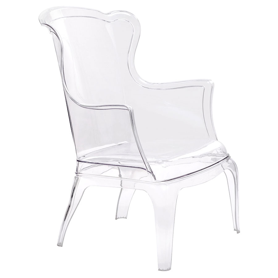 Valleria Modern Transparent Arm Chair