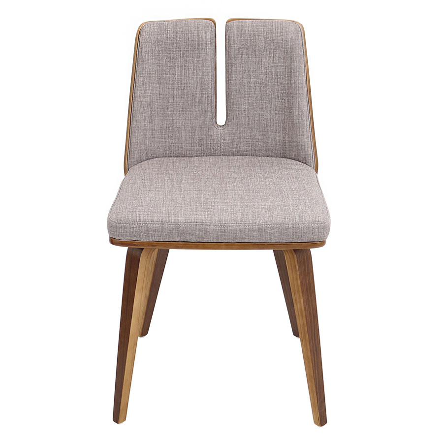 Valto Taupe Modern Side Chair