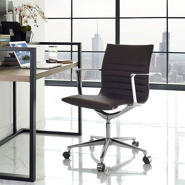 Vanguard Brown Contemporary Office Chair