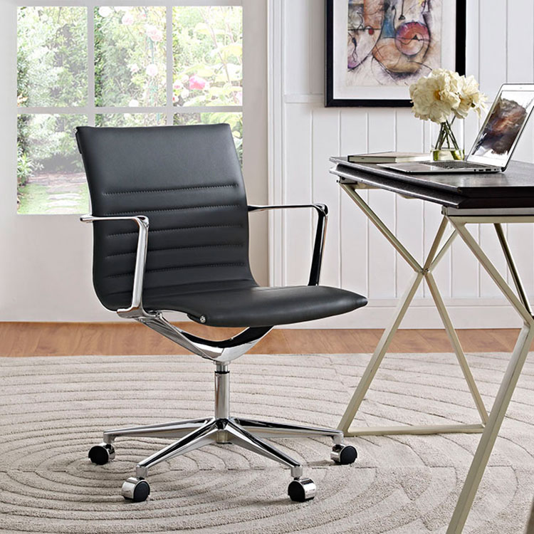 Vanguard Gray Contemporary Office Chair