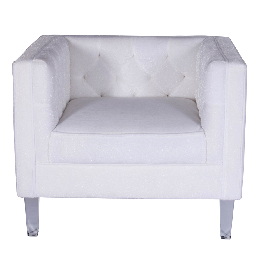 Vendela White Contemporary Chair