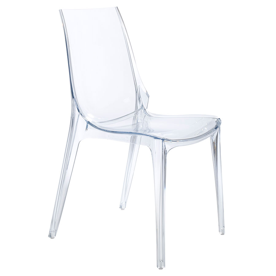 Verona Modern Transparent Side Chair