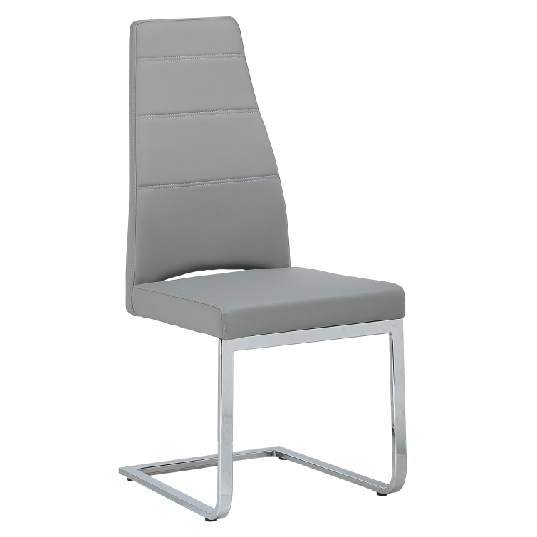 Ville Gray Modern Dining Side Chair