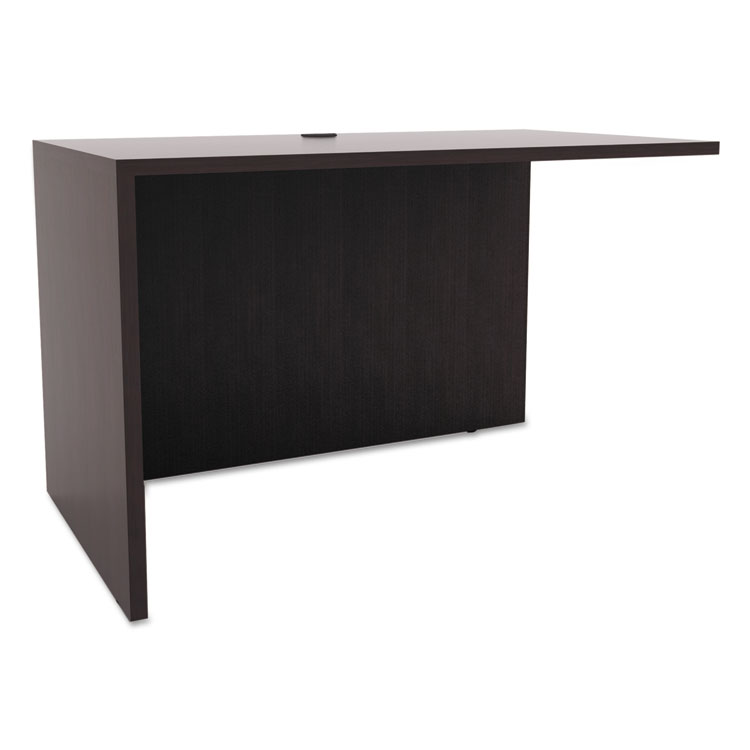 Virginia Modern 42 Inch Return in Espresso