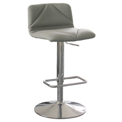 Vivo Gray Modern Adjustable Height Stool