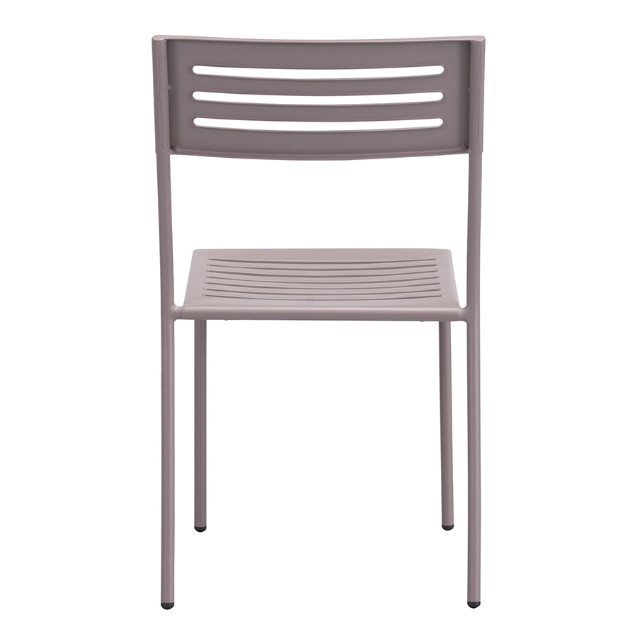 Walter Taupe Contemporary Outdoor Side Chair
