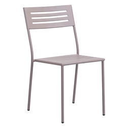 Walter Taupe Modern Side Chair