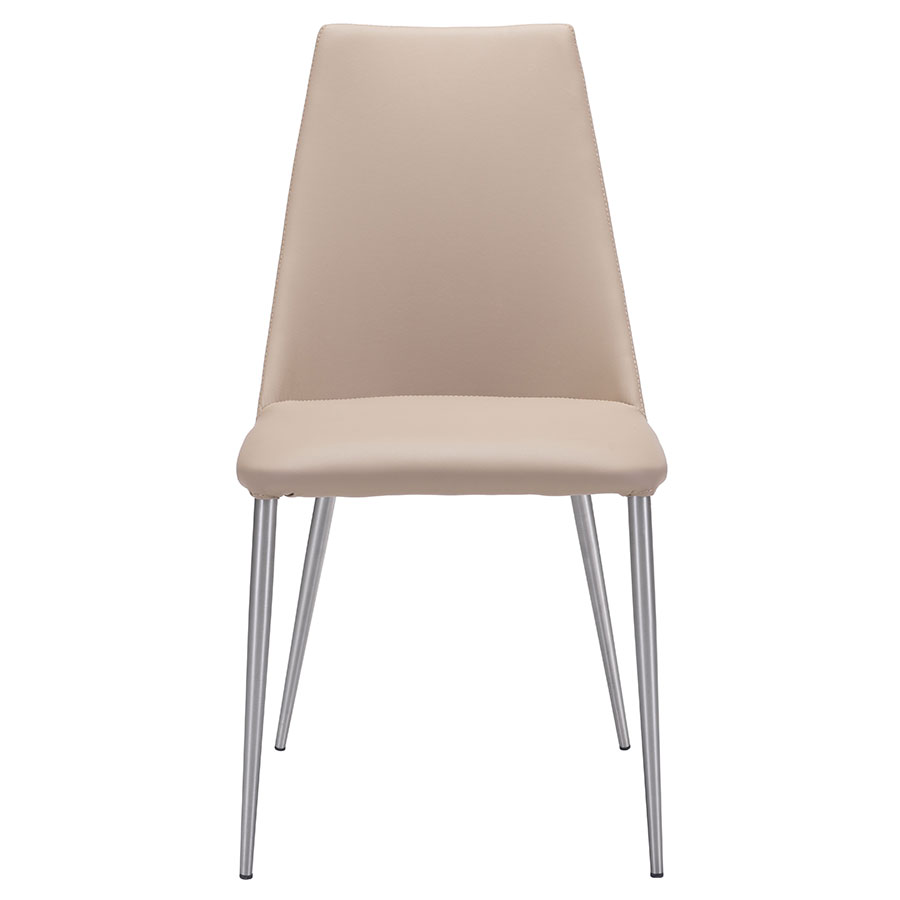 Warner Beige Contemporary Dining Chair