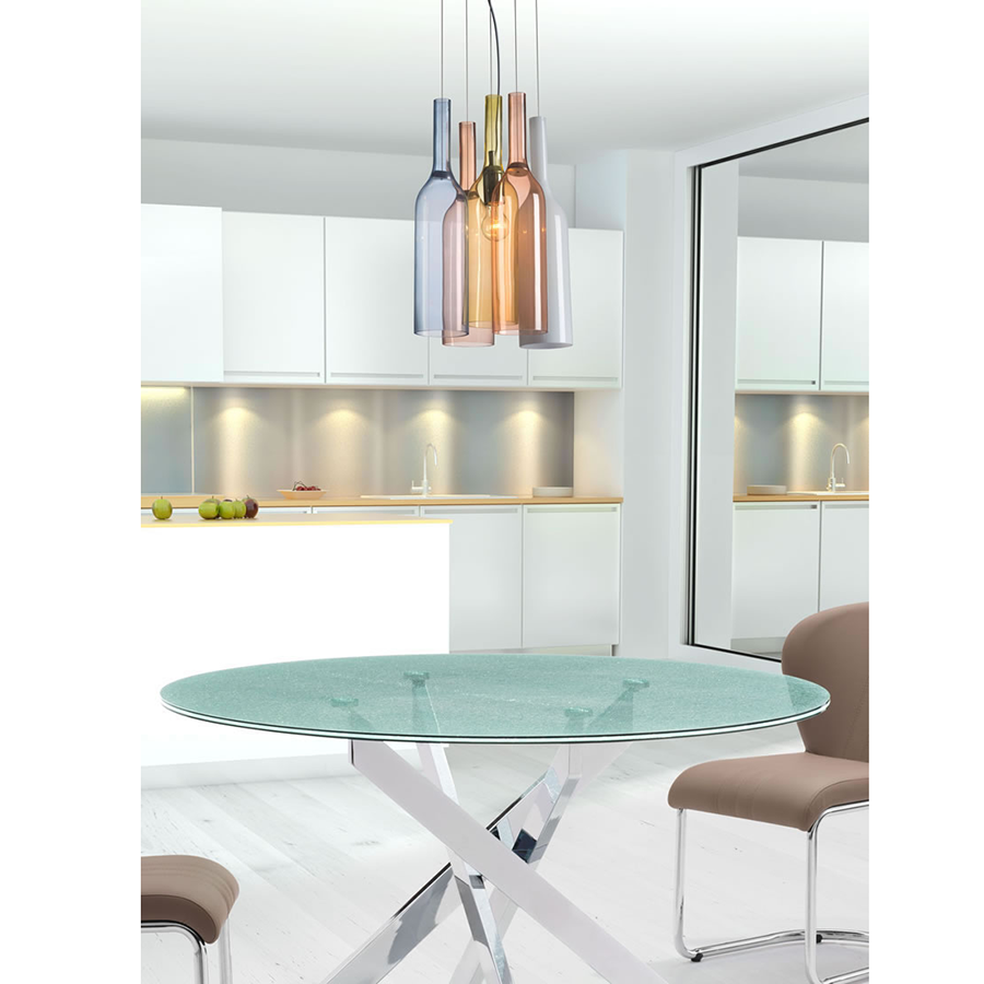 Weldon MultiColor Contemporary Hanging Lamp