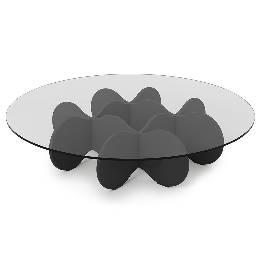Wellington Modern Black Coffee Table