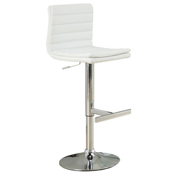 Wendy Modern White Adjustable Stool