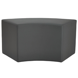 Westin Modern Arc Bench in Slate Leather