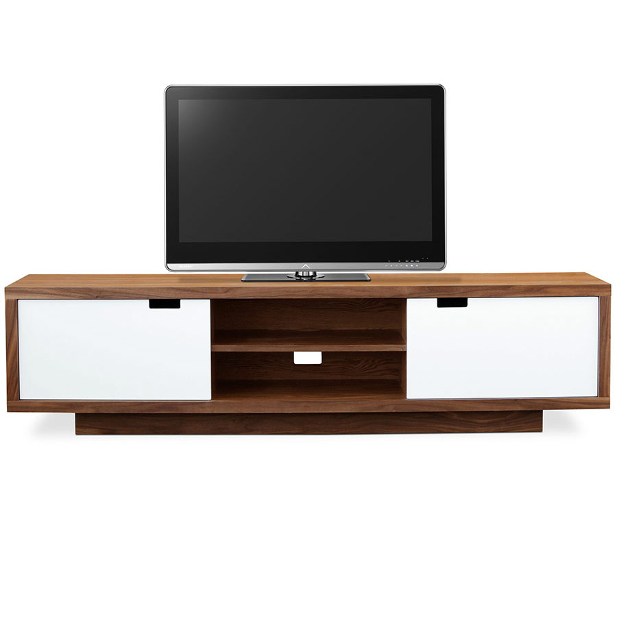 Wilson Modern Media Stand and Cabinet by Gus Modern