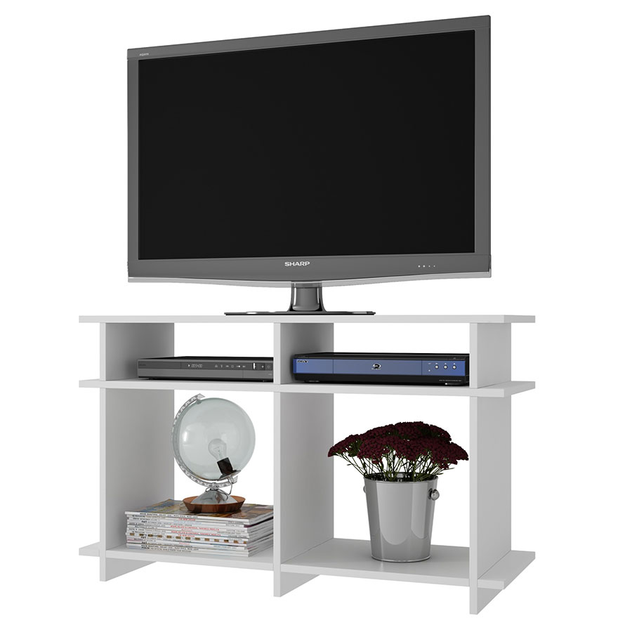 Modern Tv Stand Winston White Media Stand Eurway