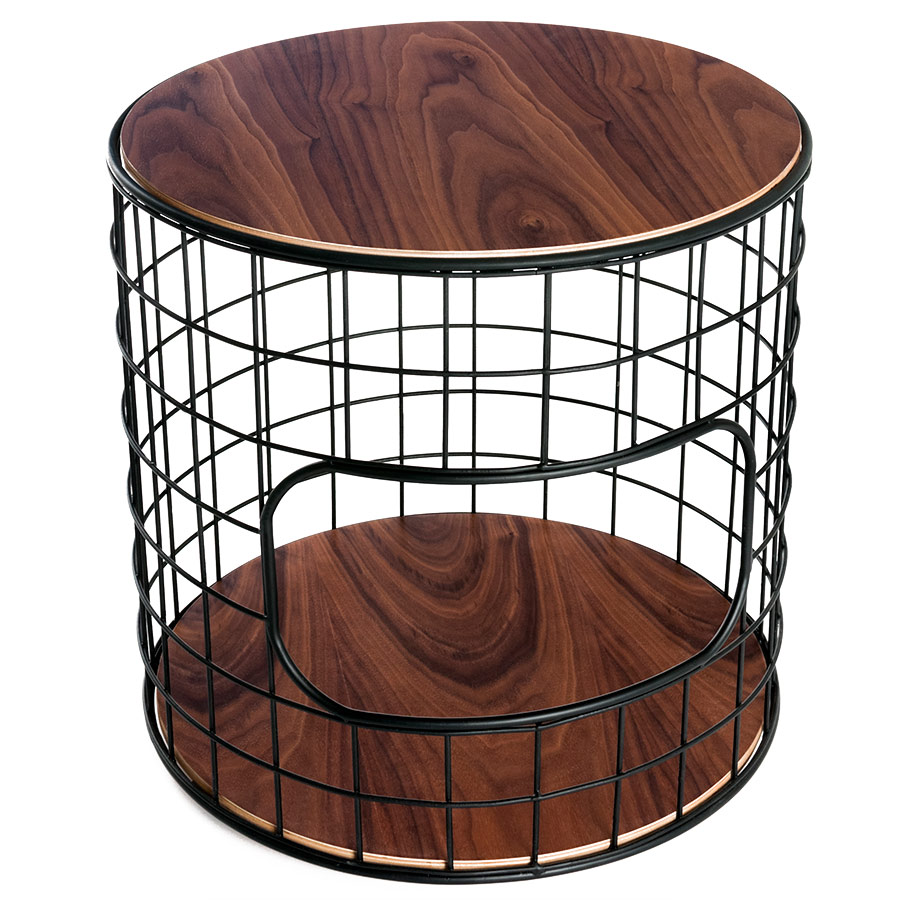 Wireframe Contemporary End Table by Gus Modern