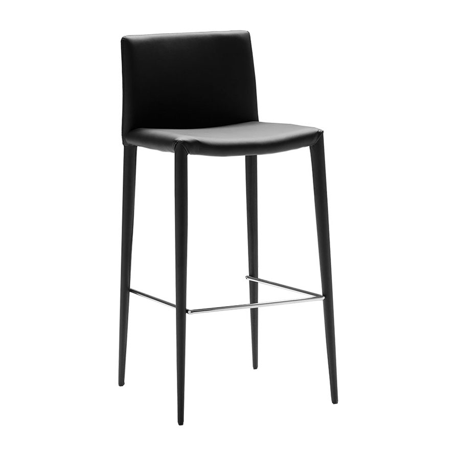Zelda Modern Black Counter Stool