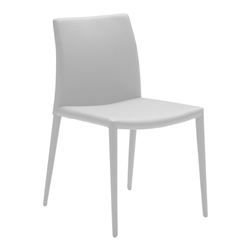Zelda White Modern Dining Chair